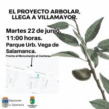 """Llega a Villamayor el """"Proyecto Arbolar"""" de la Diputación de Salamanca, con una actividad abierta a todos los públicos"""